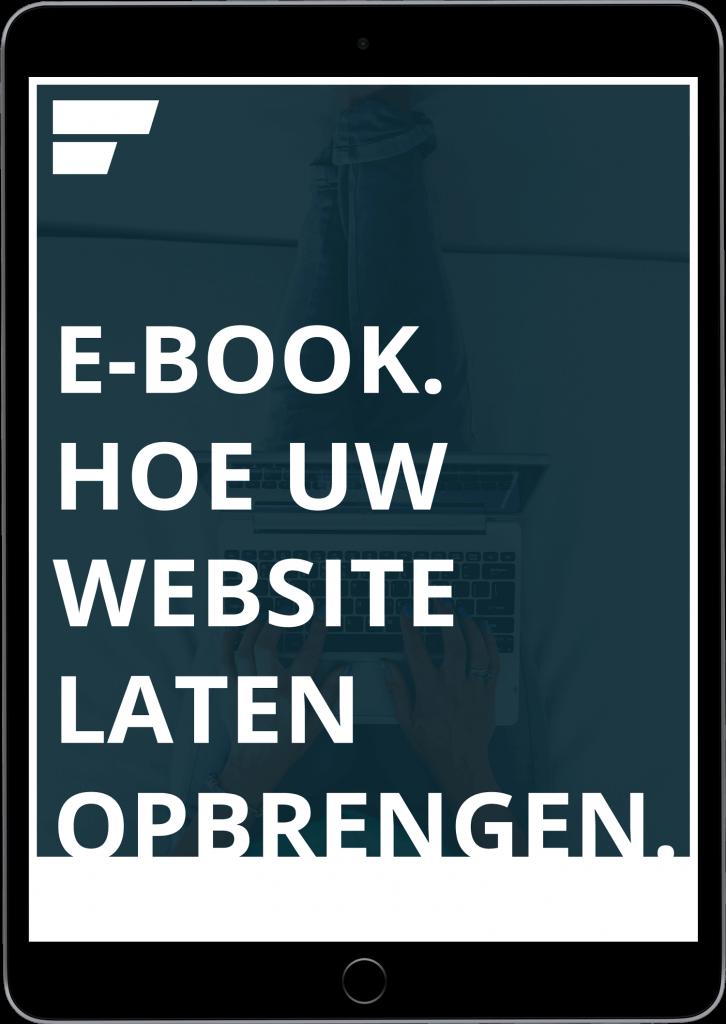iPad - website laten opbrengen